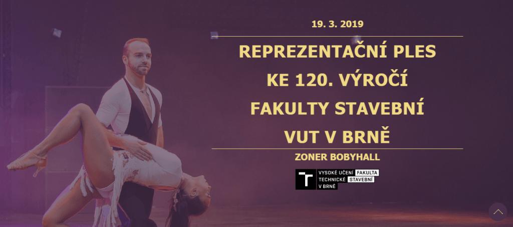Reprezentační ples Fakulty stavební VUT – ke 120. výročí