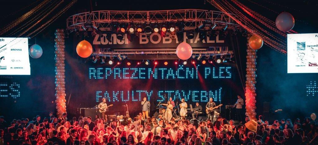 Reprezentační ples Fakulty stavební ke 120. výročí
