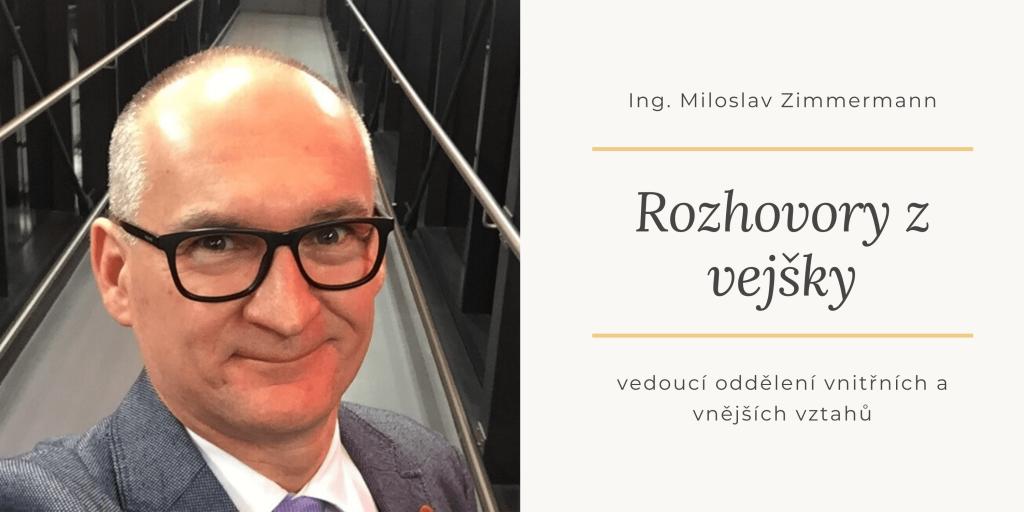 Rozhovory z vejšky – Miloslav Zimmermann
